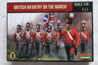 Strelets 1/72 ST0141 British Infantry On The March (Napoleomic)